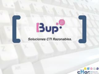 Soluciones CTI Razonables.