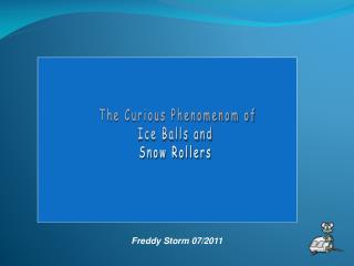 Freddy Storm 07/2011