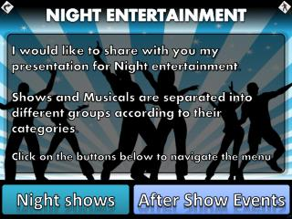 NIGHT ENTERTAINMENT