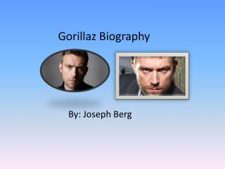 Gorillaz Biography