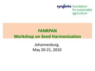 Johannesburg,  May 20-21, 2010