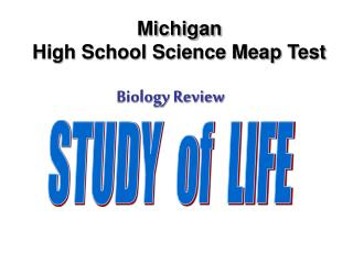Michigan  High School Science Meap Test