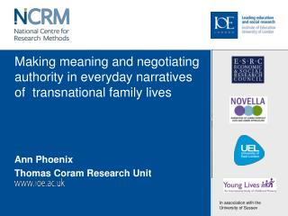 Making meaning and negotiating authority in everyday narratives of  transnational family lives