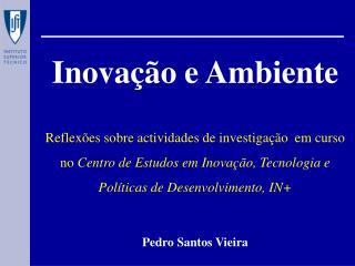 Inovação e Ambiente