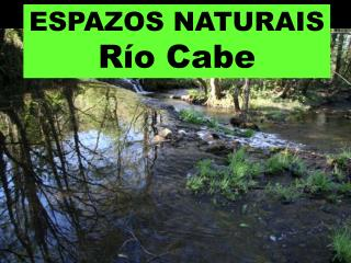 ESPAZOS NATURAIS Río Cabe
