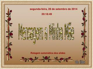 segunda-feira, 28 de setembro de 2014