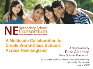 A Multistate Collaboration to Create World-Class Schools Across New England