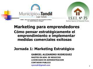 Marketing para emprendedores
