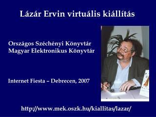 Lázár Ervin virtuális kiállítás