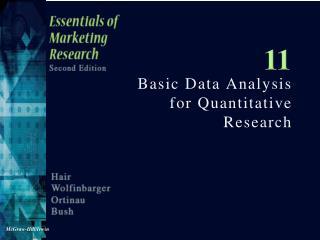 Basic Data Analysis for Quantitative Research
