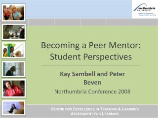 Becoming a Peer Mentor: Student Perspectives