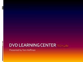D vd learning center  tech 4280