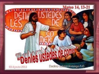 Mateo  14, 13-21