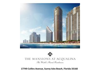 17749 Collins Avenue, Sunny Isles Beach,  Florida 33160