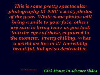 Click Mouse To Advance Slides