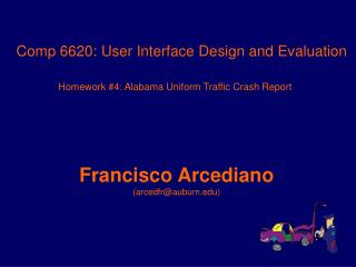Comp 6620: User Interface Design and Evaluation