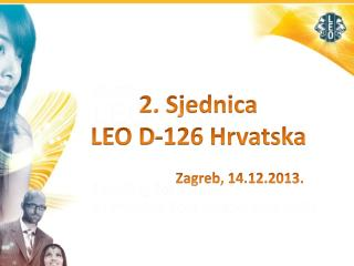 2. Sjednica  LEO D-126 Hrvatska