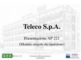 Teleco S.p.A.