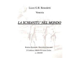 Liceo G.B. Benedetti Venezia