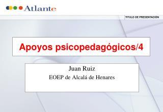 Apoyos psicopedagógicos/4