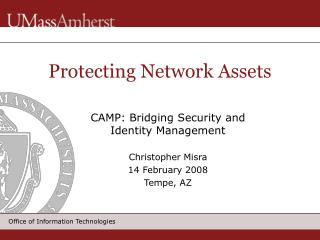Protecting Network Assets
