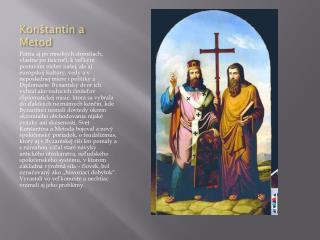 Konštantín a Metod
