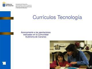 Currículos Tecnología