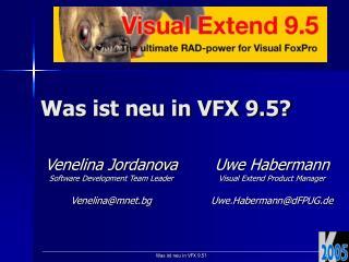 Was ist neu in VFX 9.5?