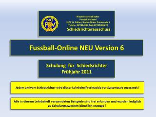 Fussball-Online NEU Version 6
