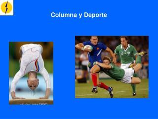 Columna y Deporte