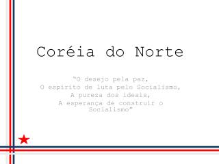 Cor ia do Norte