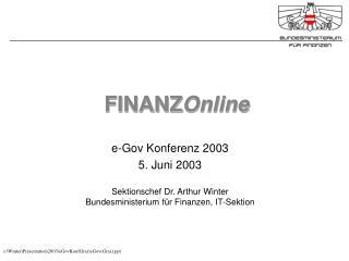 FINANZ Online