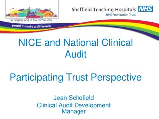 NICE and National Clinical Audit Participating Trust Perspective