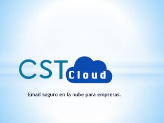 Email seguro en la nube para  empresas.