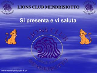 LIONS CLUB MENDRISIOTTO