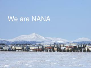 We are NANA