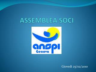 ASSEMBLEA SOCI