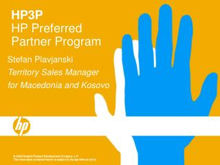 HP3P  HP Preferred Partner Program