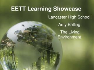 EETT Learning Showcase
