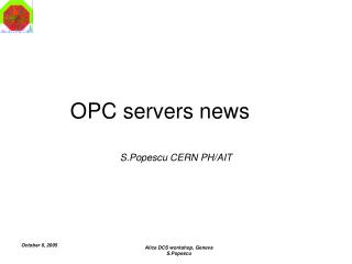 OPC servers news