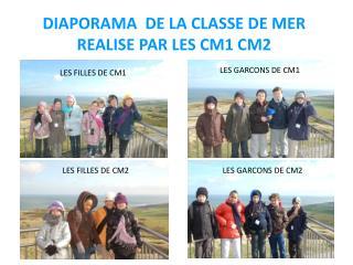 DIAPORAMA  DE LA CLASSE DE MER  REALISE PAR LES CM1 CM2
