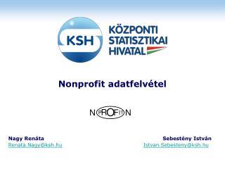 Nonprofit adatfelvétel
