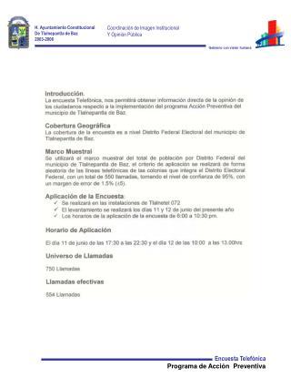 H. Ayuntamiento Constitucional De Tlalnepantla de Baz 2003-2006