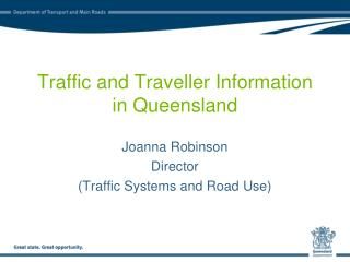 Traffic and Traveller Information in Queensland