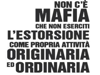 In Italia ci sono diversi tipi di mafia  In  Sicilia  la mafia locale si chiama  Cosa Nostra