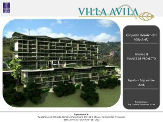 Conjunto Residencial  Villa Ávila