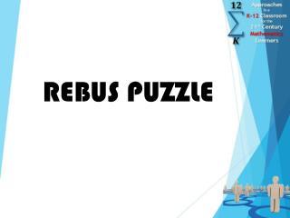 REBUS PUZZLE
