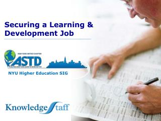 Securing a Learning & Development Job