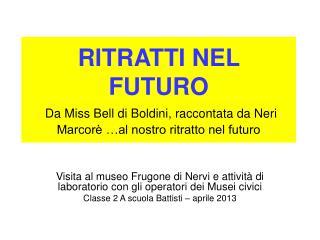 Visita al museo Frugone di Nervi e attività di laboratorio con gli operatori dei Musei civici