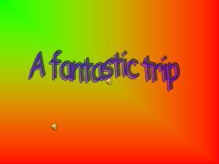 A fantastic trip
